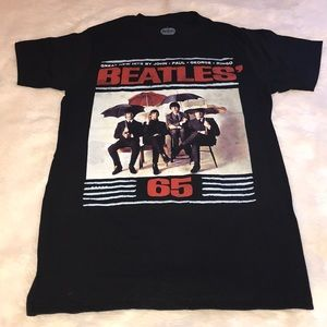 The Beatles '65 umbrella album cover graphic tee M
